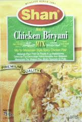 Shan Malay Chicken Biriyani mi