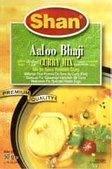Shan Aloo bhaji curry mix
