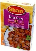 Shan liver curry mix