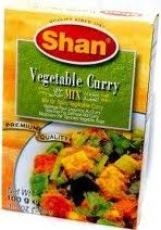 Shan vegetable curry mix