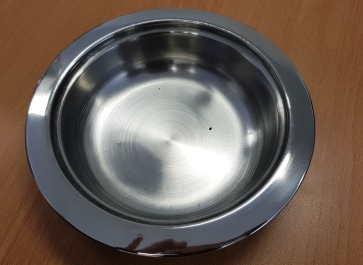 Round  Entry Dish 3 DS 1211 C